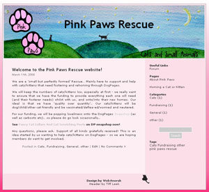Pink Paws Night