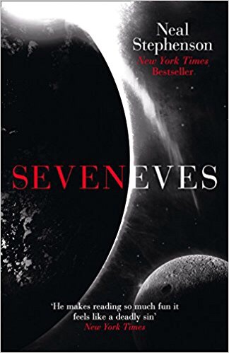 Seveneves by neal stephenson book cover